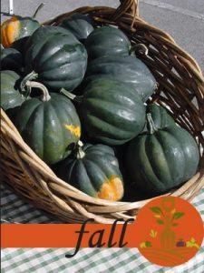 Fall Crop Calendar